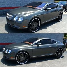 Bentley gt so hard on these forgiato wheels instagram media by bombwhips bentley gt on 24 forgiato with the peanut butter sciox Images