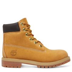 Shop Premium 6 Inch Boot for Juniors in Yellow today at Timberland. The  official Timberland online store. a4932e235fe8