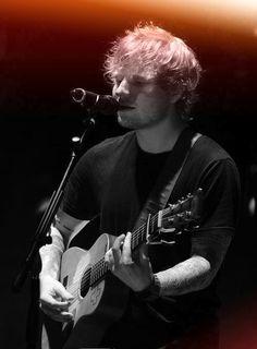 Ed Sheeran, a truly talented artist.