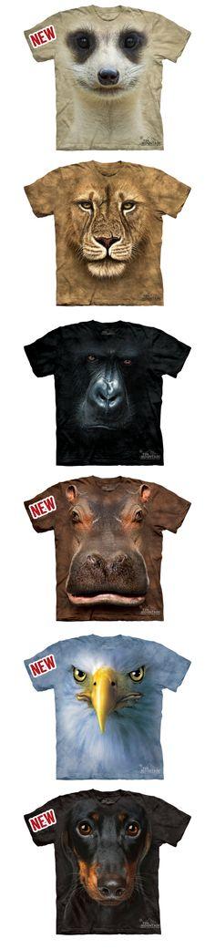 Camisetas animais 2