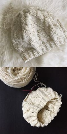 The lovely Audrey - free knitting pattern #Hats