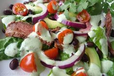 http://ourbestbites.com/2009/03/chili-lime-steak-salad/