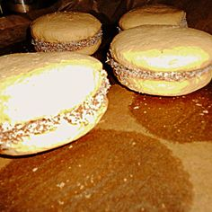 Alfajores, Kekse aus Weizen-Mais-Mürbeteig mit Karamellfüllung und Kokosraspeln