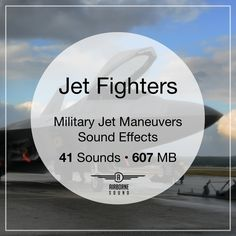 41 modern jet fighter maneuver sound effects: whipping passes, fiery climbs, and crackling dive bombs. Includes and Raptors. Military Jets, Military Aircraft, Sound Library, F22 Raptor, Sound Effects, Fighter Jets, Raptors, Libraries, Beach