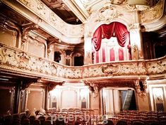 Unique home theatre in Yusupov Palace in St.Petersburg
