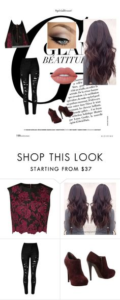 """""""Untitled #97"""" by rebeccaball37 on Polyvore featuring Ted Baker, Sgn Giancarlo Paoli and Lime Crime"""