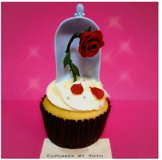 The Rose Cupcakes By YuYu #BeautyAndTheBeast