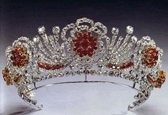 """The Burmese Ruby Tiara"""