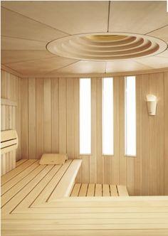 modern sauna. jösses vad snajsigt