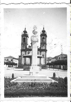 Praça Magalhães Coutinho, Penalva Do Castelo, Potugal (1970)