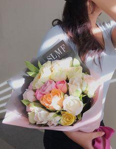 crepe paper flower byy: slmf