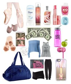"""What's in my dance bag!!"" by luna1116 ❤ liked on Polyvore featuring art, modern and contemporary"