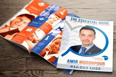 Amir Modonpour Brochure by Sweet Print Inc.