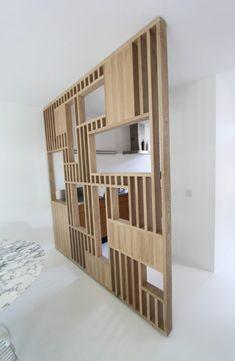 Open Plan Living, Decoration, Sweet Home, Shelves, House Design, Cabinet, Interior Design, Storage, Furniture