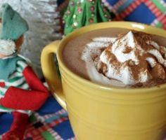 Fahéjas forró csoki