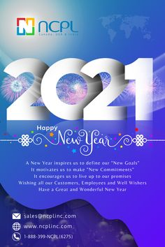 May this year bring new happiness, new goals, new achievements, and a lot of new inspirations in your life. The New Year has brought another chance for us to set things right and to achieve new goals in our lives. Wishing you a Happy New Year 2021 #HappyNewYear2021 #StayBlessed