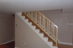 Leonard VandenBerg Construction: Removable Stair Rail W