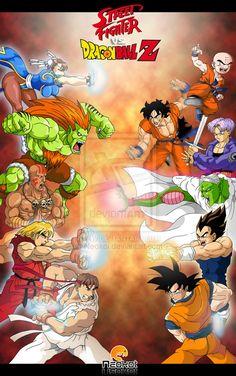 Dragon Ball vs. Street Fighter