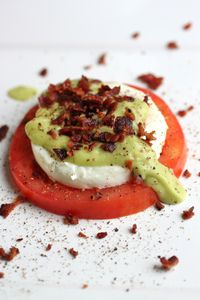 eggs paleo (like benedict, but with avocado and tomato instead of bread)