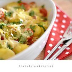 Kartoffelauflauf - einfach, schnell und soooooo gut! . . #erdäpfel #erdäpfelauflauf #erdäpfelgratin #kartoffelgratin #frischgekocht #kartoffelauflauf #auflauf #auflaufliebe #heurige #eatstagram #nomnom #wissenwasdrinist #einfachkochen #einfacheküche #zugutumwahrzusein #cooking #potatogratin #homecooked #genussmomente #daslebengenießen #kleinefreuden #hausgemacht #gesundundlecker #fraeuleinwinter Macaroni And Cheese, Ethnic Recipes, Food, Easy Cooking, Home Made, Essen, Mac And Cheese, Meals, Yemek