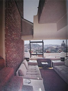 Apartment, Rome, Gae Aulenti
