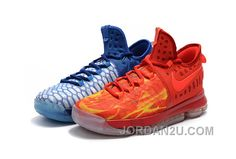 timeless design 45e87 c3811 Durant 9 basketball shoes playoffs Ice and fire - Dicount Nike Store,Cheap  Nike Shoes,Cheap Jordan Shoes Wholesale Online
