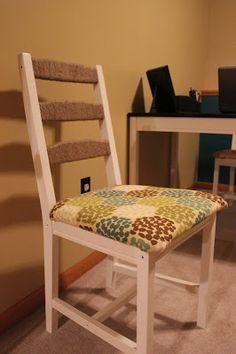 Upholstered Ikea Jokkmokk Chair (Life as Bridget Knows It)