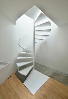 Best Dolle Calgary White Spiral Stair Kit 1200Mm Stair Kits 400 x 300