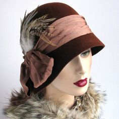 Got to have a cloche hat to really have that Bowes-Lyon look!