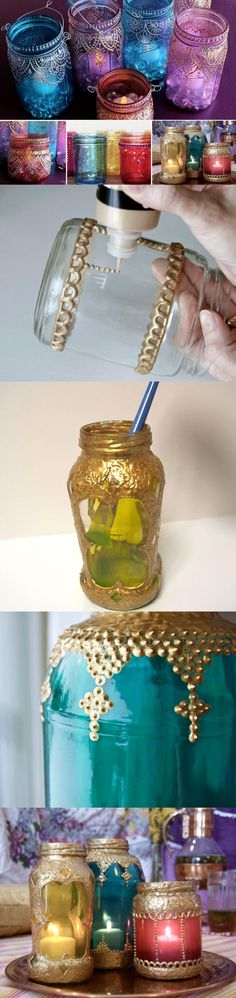 DIY Moroccan Jar Lanterns Pictures, Photos, and Images for Facebook, Tumblr, Pinterest, and Twitter
