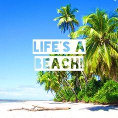 Life's a beach! #tropical #summer picture by Femke Dam