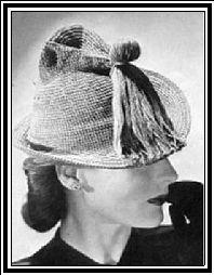 Brimmed Hat - No. 2623 (Vintage Pattern)