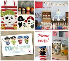 ETINCELLE CREATIVE STUDIO: Pirate Party {Inspiration board}... /// Anniversaire Pirate