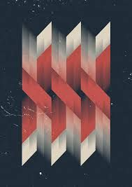 geometric graphic design poster - Google Search