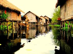 Inle Lake, Burma - very evocative image