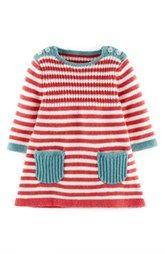 Little girl fashion-- Mini Boden Stripy Knit Dress