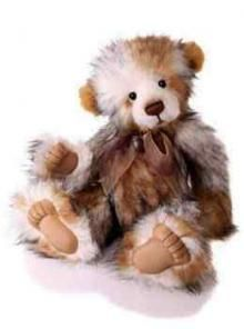 Charlie Bears 2010 'Jackie' Plush Teddy Bear