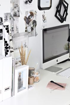 Work Space - Black & White