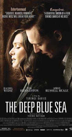 The Deep Blue Sea is a 2011 Drama, Romance film directed by Terence Davies and starring Rachel Weisz, Tom Hiddleston. Rachel Weisz, Netflix Movies, Movies Online, Watch Netflix, Deep Blue Sea Movie, Tom Hiddleston, Film Romance, Image Internet, Deep Blue Sea