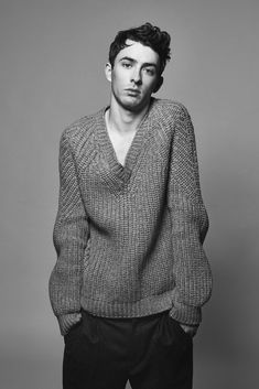 Matthew Beard Poses for WWD Photo Shoot, Talks Skylight + New York City