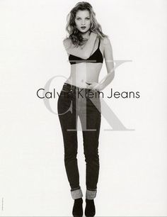 CALVIN KLEIN JEANS KATE MOSS 1995 By DAVID SIMS