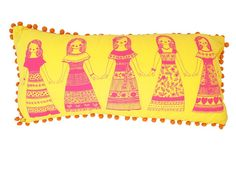 Hiccups - Mexican Dolls Novelty Cushion