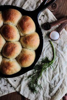 Dill Dinner Rolls via Pastry Affair #recipe