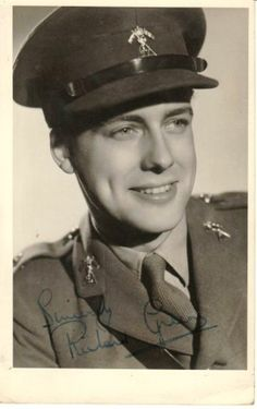 British actor Richard Greene abandoned a promising Hollywood movie career in 1940 to return to his homeland to aid in the war effort, enlisting in the Royal Armoured Corps 27th Lancers. During the war, he was given three furloughs to appear in three British feature films, each with a propaganda message.