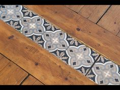 Cute old world charm with a tiled transitional! Solana Flooring www.solanaflooring.com