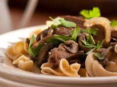 Beef Stroganoff Recipe : Ellie Krieger : Food Network - FoodNetwork.com