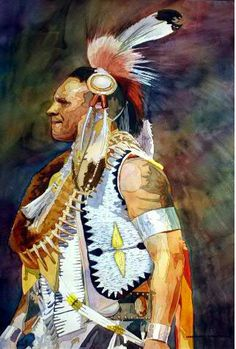 Pride Laurie Goldstein-Warren http://www.warrenwatercolors.com/native-american-series-gallery/