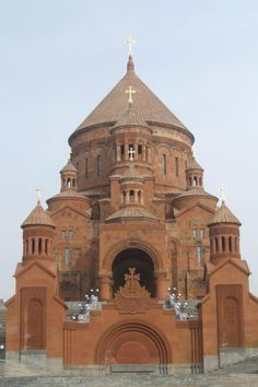 St. Hovhannes Church in Abovyan, Armenia. Architect Artak Ghulyan