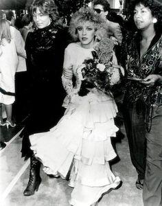 """Purple Rain"" movie premiere, July 1984."