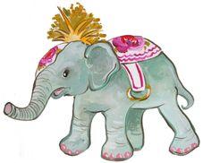 baby elephant #droozstudio @shellykennedy